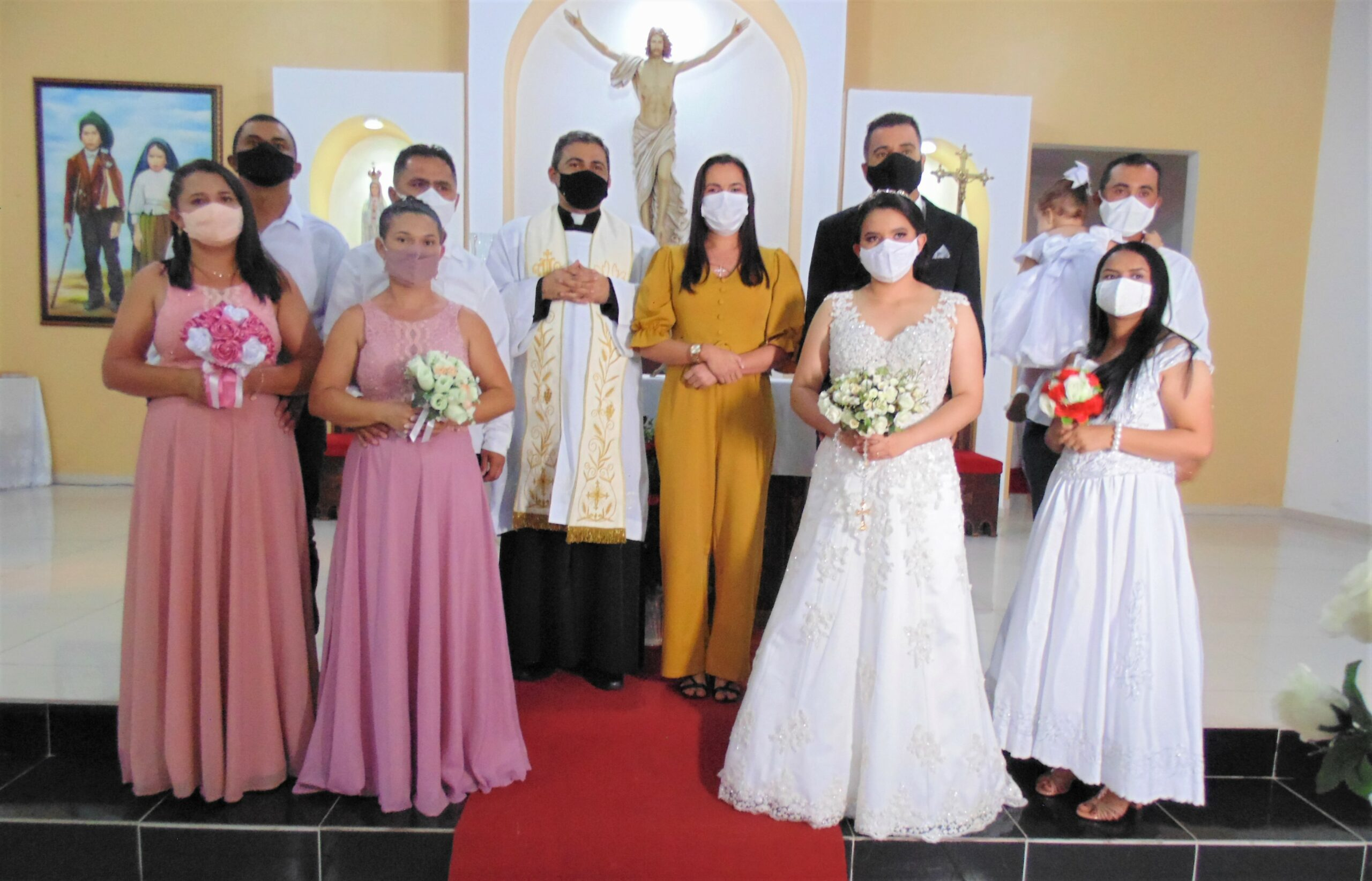 Prefeitura Municipal realiza Casamento Comunitário em parceria com Paróquia Nossa Senhora da Conceição e Santa Rosa de Lima